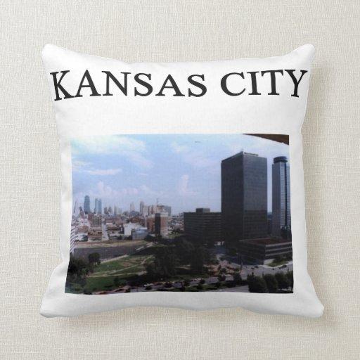 kansas city missouri gifts t-shirts throw pillow