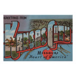 Kansas City, Missouri (Heart) Poster