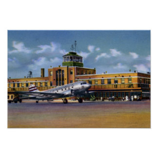Kansas City Missouri Municipal Airport Print