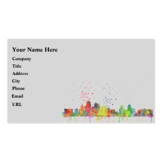 KANSAS CITY, MISSOURI SKYLINE BUSINESS CARD