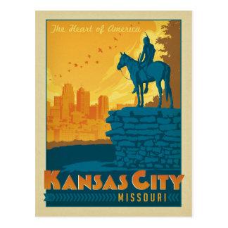 Kansas City, MO Postcard
