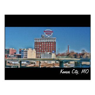 Kansas City, MO Western Auto building Postcard
