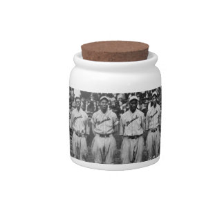 Kansas City Monarchs baseball team, 1924 Candy Dish
