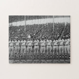 Kansas City Monarchs baseball team, 1924 Jigsaw Puzzle