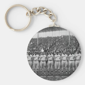 Kansas City Monarchs baseball team Keychain