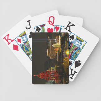 Kansas City Plaza Lights Bicycle Playing Cards