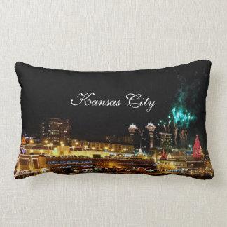 Kansas City Plaza Lights, Fireworks Throw Pillows