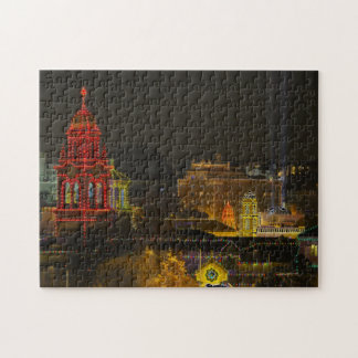 Kansas City Plaza Lights Jigsaw Puzzle