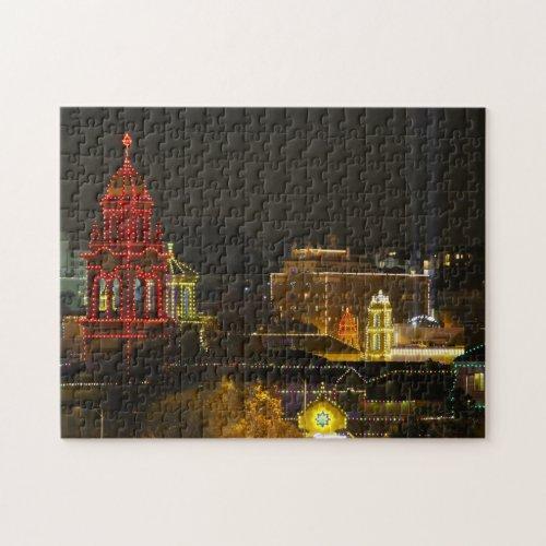 Kansas City Plaza Lights Jigsaw Puzzle