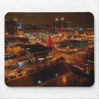Kansas City Plaza Lights Mousepad