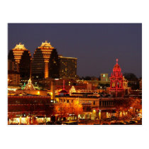 Kansas City Plaza Lights Postcard