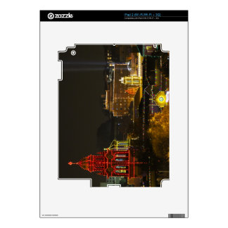 Kansas City Plaza Lights Decals For The iPad 2