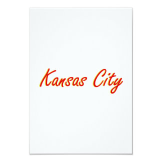Kansas City Red and Gold Card