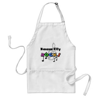 Kansas City Rocks Adult Apron