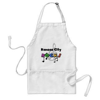 Kansas City Rocks Adult Apron