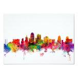 Kansas City Skyline 5x7 Paper Invitation Card