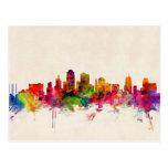 Kansas City Skyline Cityscape Post Card