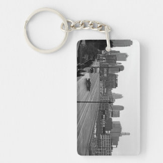 Kansas City Skyline keychain