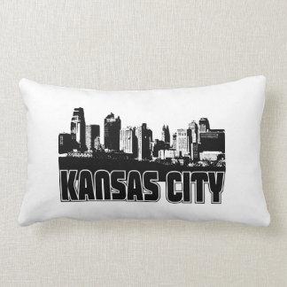 Kansas City Skyline Pillow