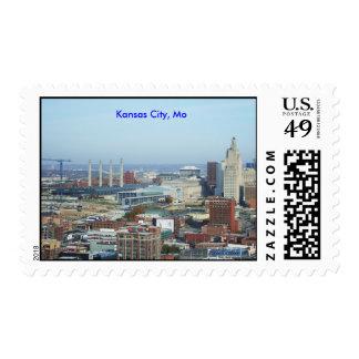 Kansas City Skyline Postage