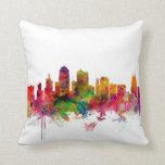 Kansas City Skyline Throw Pillows