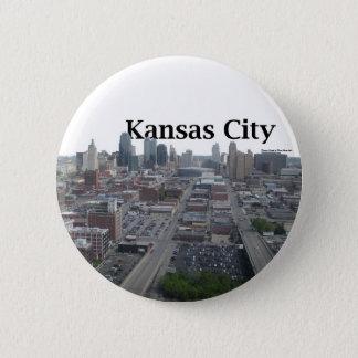 Kansas City Skyline with Kansas City in the Sky Button