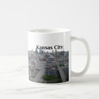 Kansas City Skyline with Kansas City in the Sky Classic White Coffee Mug
