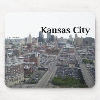 Kansas City Skyline with Kansas City in the Sky Mouse Pad