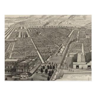 Kansas City Stock Yards, Kansas City, Kansas Postcard