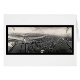 Kansas City Stockyards Photo 1907 Card