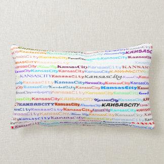Kansas City Text Design II Lumbar Pillow