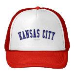 Kansas City Trucker Hats