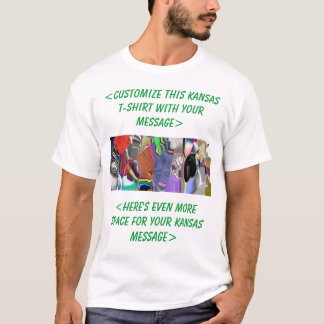 Kansas Colorful Customizable Shirt - Customize