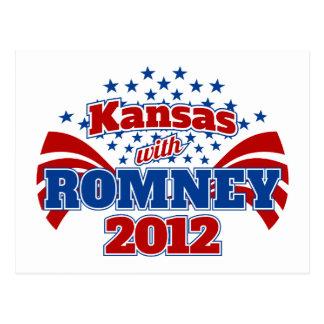 Kansas con Romney 2012 Postal
