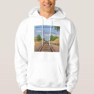 Kansas Country Railroad Track HOODIE
