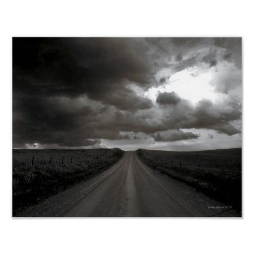 """Kansas Country Scenes """"The Road to Oz"""" Poster"""