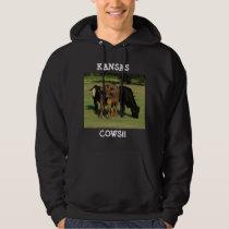 Kansas COWS HOODIE!! Hoodie