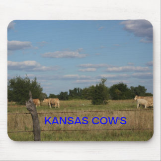 KANSAS COW'S Mousepad