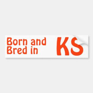 Kansas crió al pegatina (de la pegatina para el pa pegatina para auto