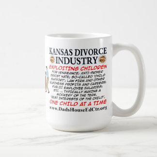 Kansas Divorce Industry. Mug
