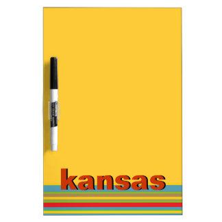 Kansas Dry Erase Board