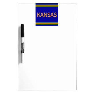 Kansas Dry Erase Board with Pen