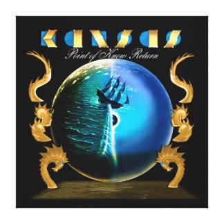 KANSAS - el punto de sabe la vuelta (2007) Lona Envuelta Para Galerias
