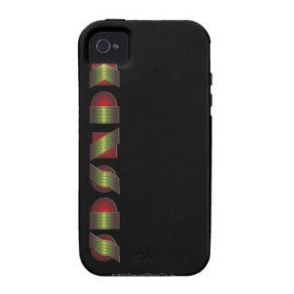 KANSAS (el punto de sabe los colores de vuelta) Vibe iPhone 4 Carcasas