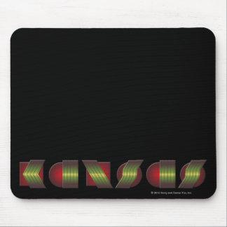 KANSAS (el punto de sabe los colores de vuelta) Tapete De Ratones