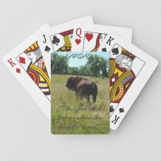 Kansas, en donde el búfalo vaga por baraja de póquer