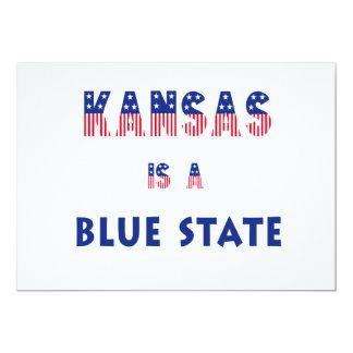 Kansas es un estado azul anuncio