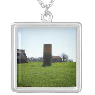 Kansas Farm Land Necklaces