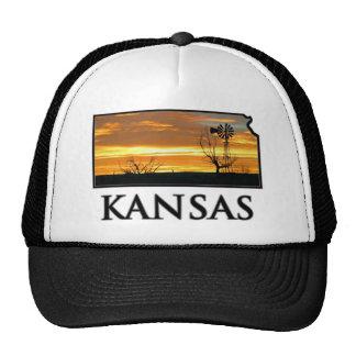 Kansas Farm Windmill Trucker Hat