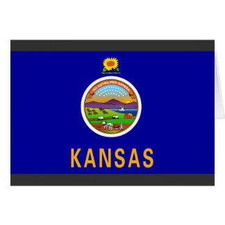 Kansas Flag Card